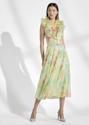 Ralph Lauren Tasha Floral Tulle Dress