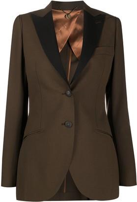 Maurizio Miri Asia contrasting-lapel blazer