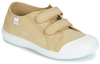 Citrouille et Compagnie JODIPADE girls's Shoes (Trainers) in Beige
