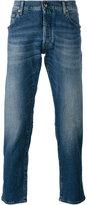 Jacob Cohen stonewashed slim-fit jeans - men - Cotton/Spandex/Elastane - 33