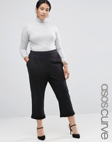 Asos Peg Pant with Ruffle Hem