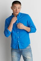 American Eagle Outfitters AE Classic Linen Button Down Shirt