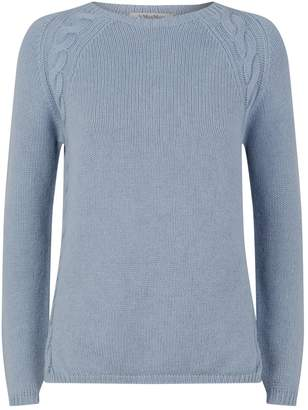 Max Mara Cashmere Cable Knit Sweater