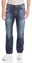 Buffalo David Bitton Men's Six Slim Straight Leg Jean