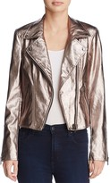 Blank NYC Blanknyc Metallic Faux Leather Moto Jacket - 100% Exclusive