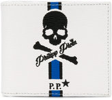 Philipp Plein skull fold out wallet - men - Leather - One Size