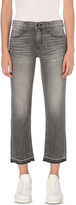 Current/Elliott Metal straight slim-fit jeans