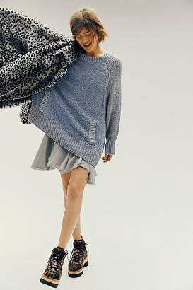 Free People Morning View 2-Fer Sweater Dress