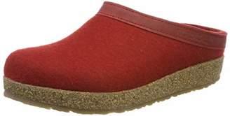 Haflinger Grizzly Torben, Unisex-Erwachsene Hausschuhe, Rot (Rubin 11), 35.5 EU