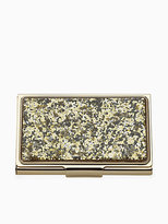 Kate Spade Simply sparkling business card holder