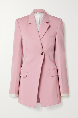 Peter Do Twill Blazer - Baby pink