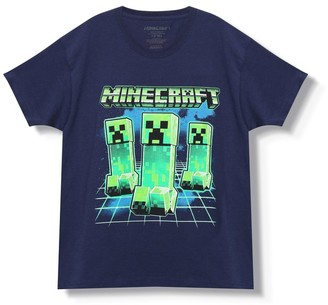 M&Co Minecraft creeper t-shirt (3-13yrs)