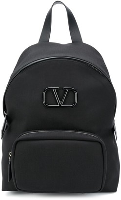 Valentino VLOGO plaque backpack