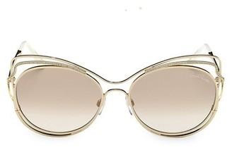 Roberto Cavalli 58MM Cat Eye Sunglasses