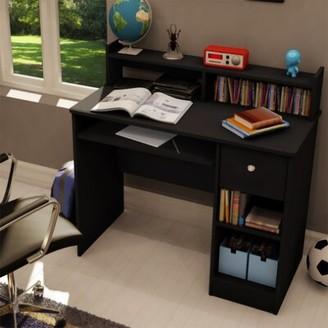 Ebern Designs Esquire Desk Color: Black