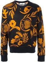 Ami Alexandre Mattiussi floral print sweatshirt