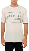 Helmut Lang Sq Logo Ss T Shirt