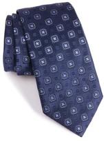 Armani Collezioni Men's Square Medallion Silk Blend Tie