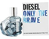 Diesel Only the Brave Eau De Toilette Spray for Men, 1.1 Ounce