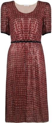 Prada Pre Owned Sequin-Embellished Dress