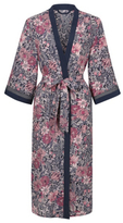 George Chiffon Floral Print Wrap Dressing Gown