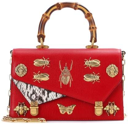 Gucci Ottilia Small leather shoulder bag