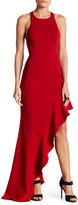 Jay Godfrey High Slit Gown