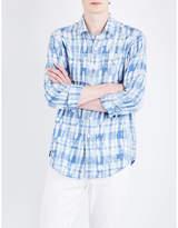 Polo Ralph Lauren Slim-fit checked linen shirt