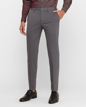 Express Extra Slim Luxe Comfort Knit Stretch Dress Pant