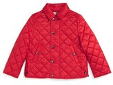 Burberry Infant Boy's 'Mini Luke' Quilted Jacket