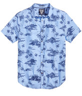 Superdry Men's Ultimate Indigo Aloha Shirt