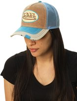 Von Dutch Women's Trucker Corduroy Hat
