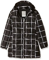Name It Girl's Hooded Long Sleeve Jacket - Multicoloured -