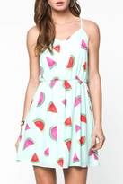 Everly Watermelon Sun Dress