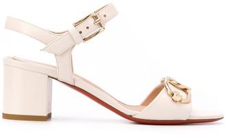 Baldinini Chain-Embellished 65mm Sandals
