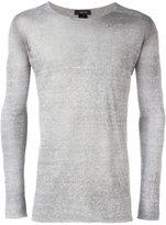 Avant Toi slim-fit jumper - men - Linen/Flax/Polyamide - XL