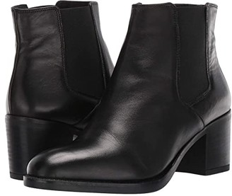 Clarks Mascarpone Bay (Black Leather) Women's Boots