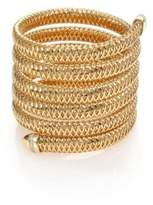 Roberto Coin Primavera Diamond & 18K Yellow Gold Six-Row Wrap Bracelet