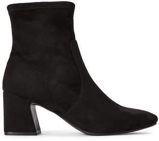 Unisa Black Hayzo Microsuede Ankle Booties