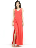 Susana Monaco Sabine Maxi Dress in Cactus Pear