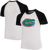 Unbranded Florida Gators Wes & Willy Youth Swim Rash Guard T-Shirt - White/Black