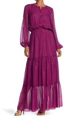 Ramy Brook Sidra Tiered Boho Maxi Dress