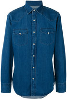 Tom Ford denim western shirt - men - Cotton - 39