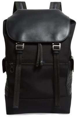 Bottega Veneta Canvas Backpack