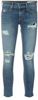 Rag & Bone Jean skinny cropped jeans