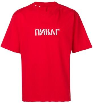 Unravel Project slogan print T-shirt