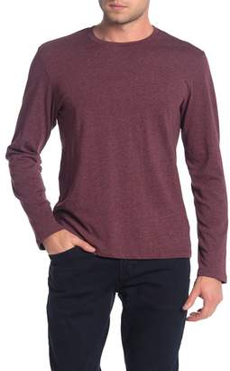 Public Opinion Crew Neck Long Sleeve Shirt