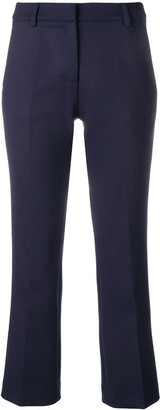 Semi-Couture Tailored Cropped Trousers
