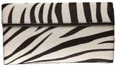 Alaïa big zebra clutch