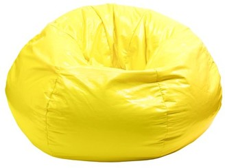 "GOLD MEDAL Bean Bag, Glossy Vinyl, Small 105"", Lipstick Red"